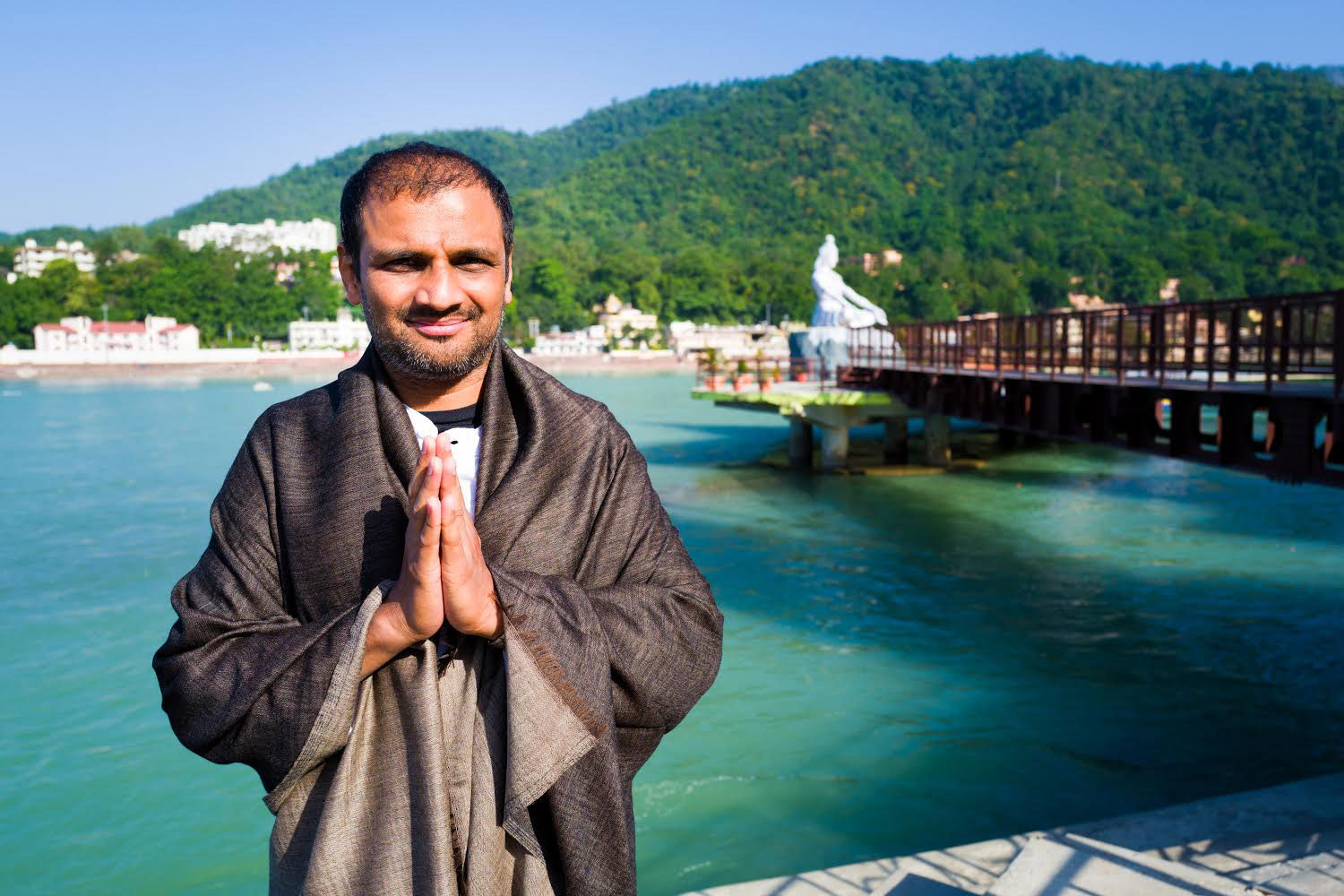 Sharath Guruji at Rishikesh